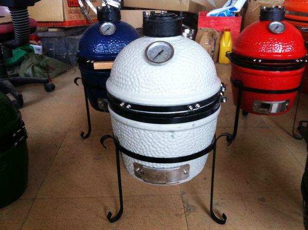 White color Wholesale Mini indoor outdoor portable grill/mini ceramic bbq grill