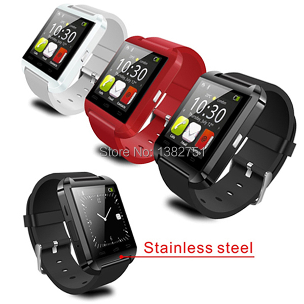 High Quality Pedometer watch Bluetooth Smartwatch WristWatch for iPhone 4 4S 5 5S 6 6 plus