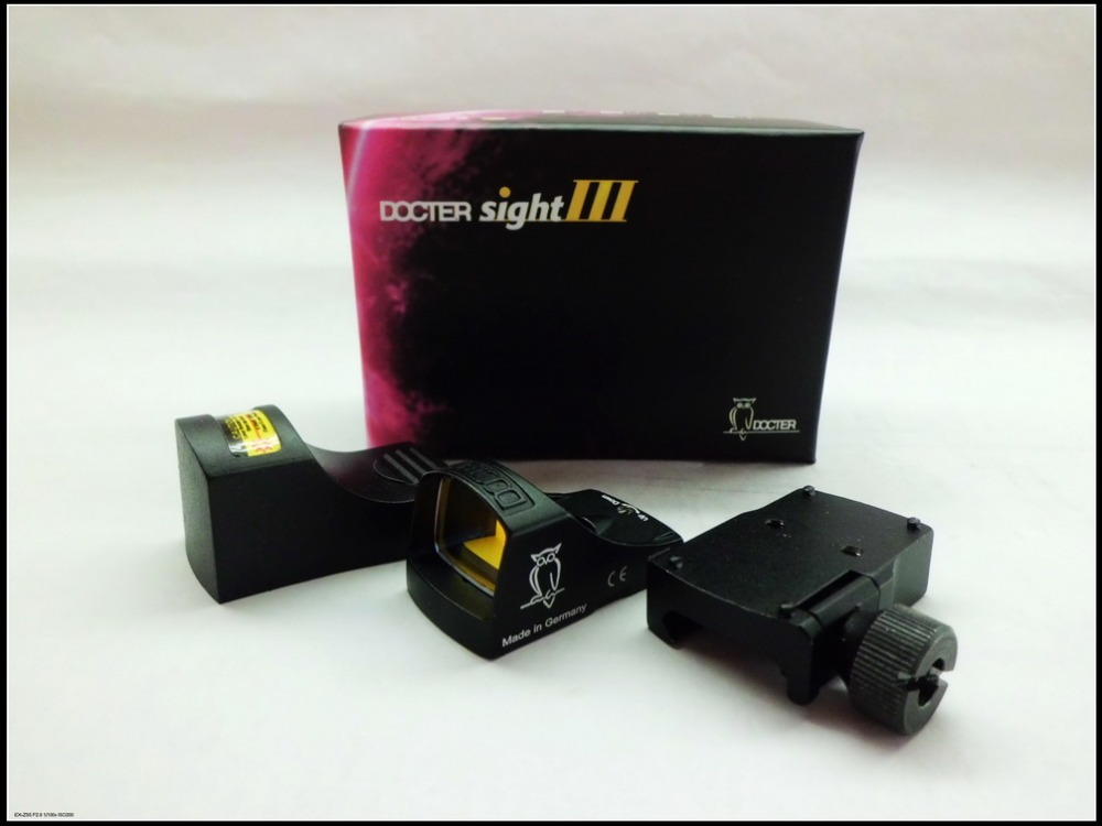 Free shipping high quality Docter Optics Reflex Red Dot Sight III Black hunting shooting tactical Balck