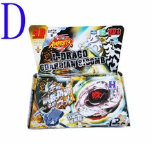 1 piece High quality Beyblade toys Big Bang Beyblade Metal Fusion 4D set kids game toys Metal Fury Beyblade kids Christmas Gift(China (Mainland))