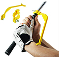 Swing Gesture Trainer Golf Practice Swing Educational Trainer Guide Gesture Alignment Training Wrist Correct Aid Plane