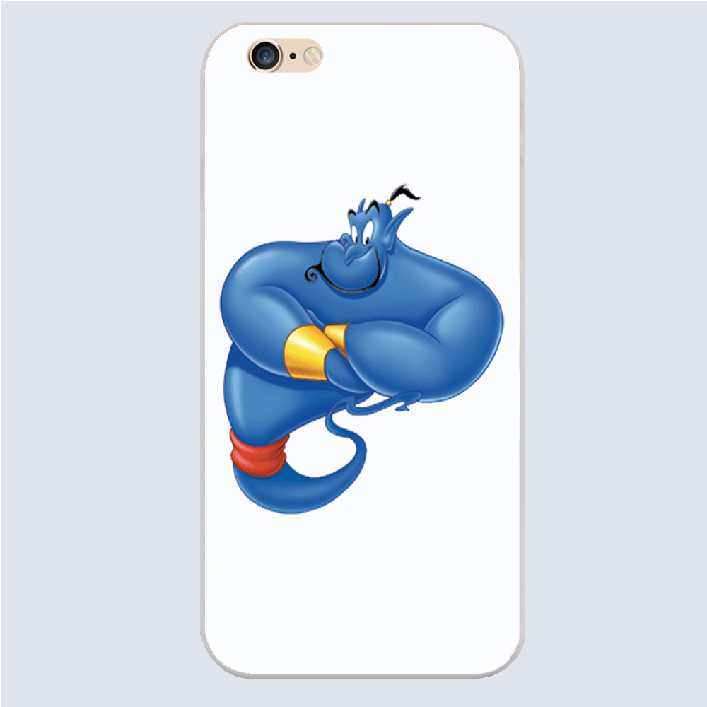 Disny Aladdin Genie genie Cover case for iphone 4 4s 5 5s 5c 6 6s plus samsung galaxy S3 S4 mini S5 S6 Note 2 3 4 z3201(China (Mainland))