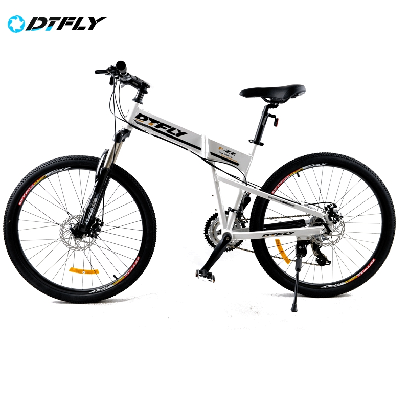 Mountain Bike 26 Inch 24 Speed Folding bicycles Aluminium Alloy Frame Front And Rear Mechanical Disc Brake Bicycle 5860-20(China (Mainland))