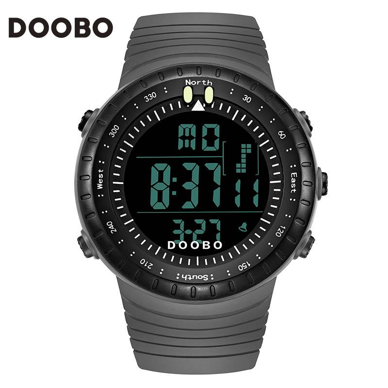 DOOBO Fashion Watch Men Waterproof LED Sports Digital Military Watches Men's Casual Electronics Wristwatches Relogio Masculino(China (Mainland))