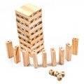 Creative Kids Wooden Building Blocks Dice Game Clasic Toys Gift Funny Digit Blocks