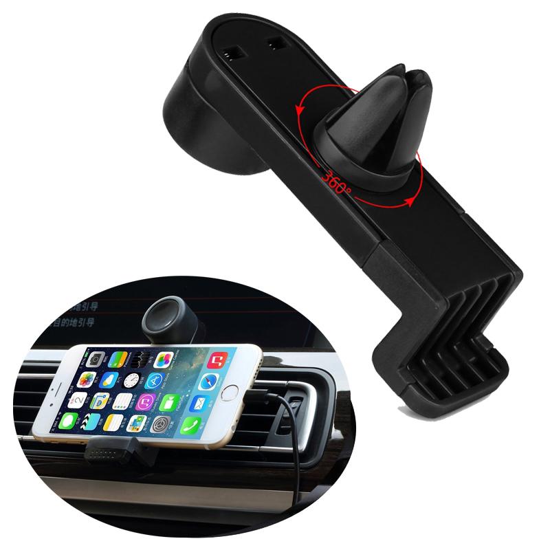 360 Degree Portable Car Air Vent Holder for Lenovo S660, S650, P780, A6010, A806, A859, S960, S850, Vibe P1m Phone Car Trestle(China (Mainland))