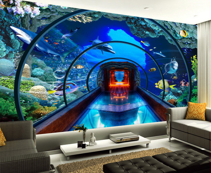 Pin Underwater Room Hd Wallpaper Place With Resolution 2560x1600 On Pinterest