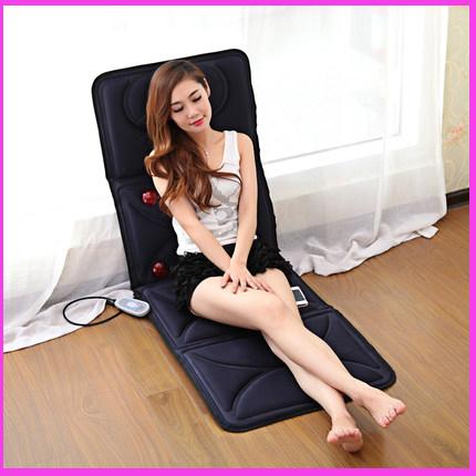 Electric Massage Mattress Cervical Massage Neck Back Legs Massage Device for Full-body Home Use Massage Cushion Equipment(China (Mainland))