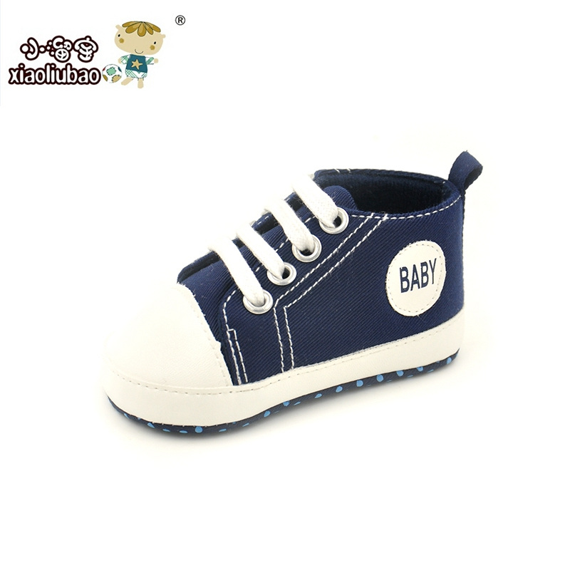 1Pair Baby Shoes Brand Newborn Baby Girls Shoes Boys Kids Sports Sneakers Infant Sapatos Newborn Prewalker Canvas Shoes(China (Mainland))