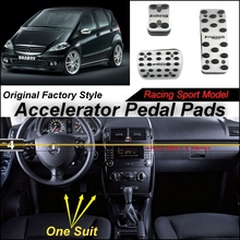 Car Accelerator Pedal Pad / Cover Factory Sport Racing Design Mercedes Benz Class MB W169 AT Foot Throttle - speed car store