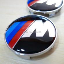 4pcs  ///M Logo Wheel Center Hub Cap 68mm Free Shipping(China (Mainland))