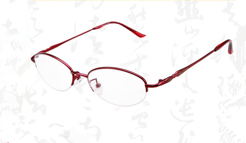 High Quality Resin Glasses Ultra Light Eyewear Anti- Fatigue Fashion Stylish Read Glasses Red Women Reading Glasses(China (Mainland))