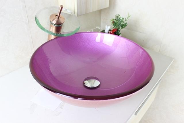 Lavatorio Para Banheiro Em Vidro :