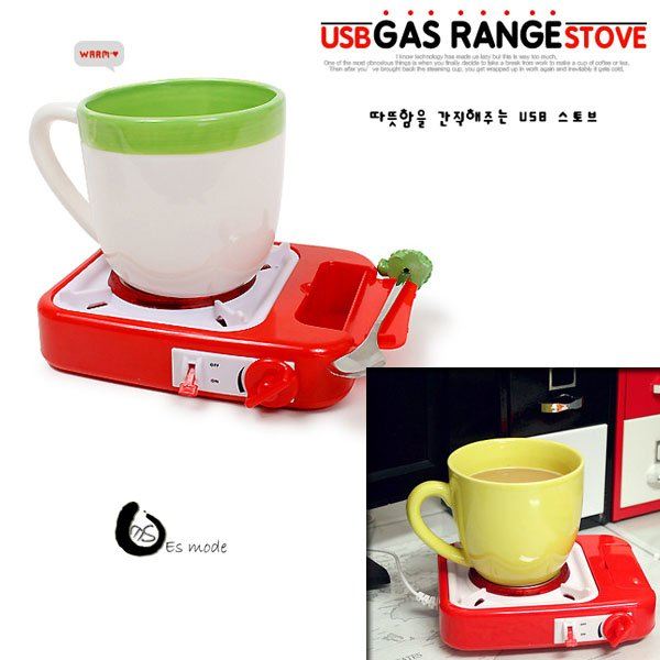 Hot sale gas stove type USB electronic warmer / heat pad Free Shipping(China (Mainland))
