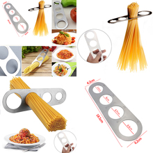 New Stainless Steel Pasta Spaghetti Noodle Measurer Measure Tool Kitchen Gadget Accessories