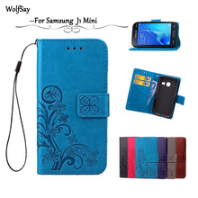 Buy Samsung Galaxy J1 Mini Leather Case J105 J105H Flip Wallet Samsung J1 Mini Phone Case Silicone Cover Card Holder &< for $3.69 in AliExpress store