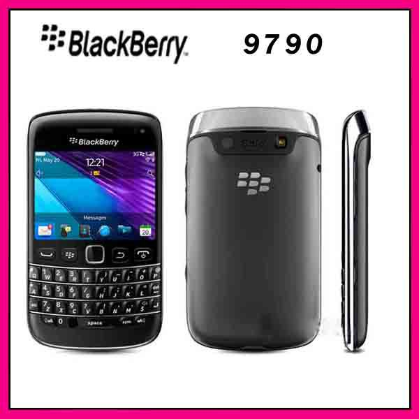 9790 Original Unlocked BlackBerry Bold 9790 WIFI 3G GPS Mobile Phone free shipping Refurbished(China (Mainland))