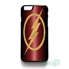Fit for iPhone 4 4s 5 5s 5c se 6 6s 7 plus ipod touch 4/5/6 back skins cellphone case cover THE FLASH