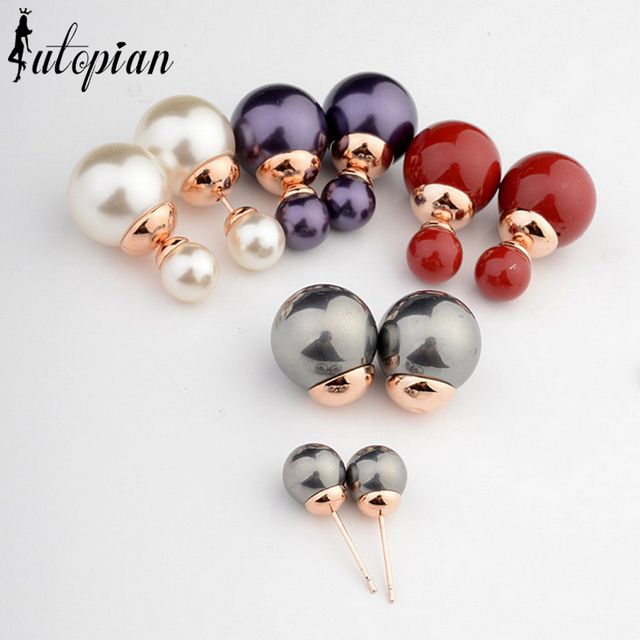 Iutopian 2014 Hot Sale Earrings Brincos Statement Top Quality  Simulated Pearl Jewelry 19 Style For Choice #RG87056