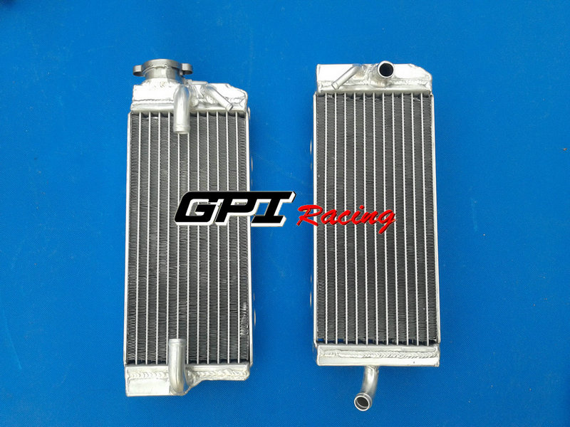 FIT FOR ALUMINUM ALLOY RADIATOR for GAS GAS EC450 SM450 FSE450 02 03 04(China (Mainland))