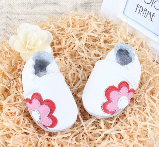 Baby boots Brand Genuine Leather Soft Sole baby Toddler Shoes shoes first walker - Mall-1048360 store