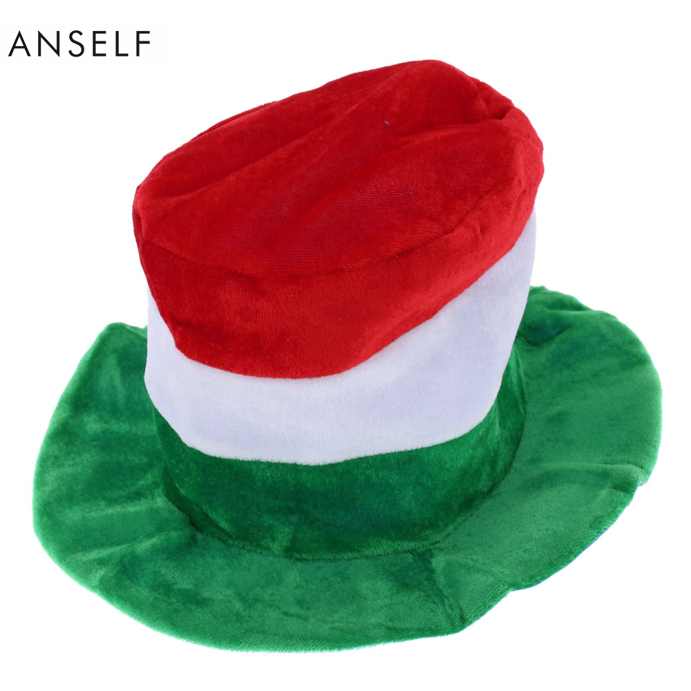 ANSELF Italian Fans Hat Carnival Cap Football Hat Awesome Hat for Party Show Cosplay Sports Game Party Supplies(China (Mainland))
