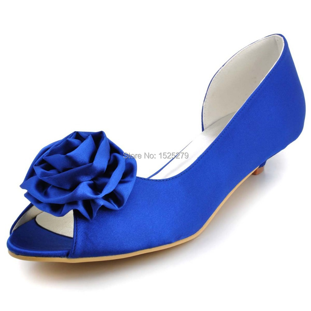 Free shipping more colors wm 007 blue women bridal party for Blue shoes for wedding dress