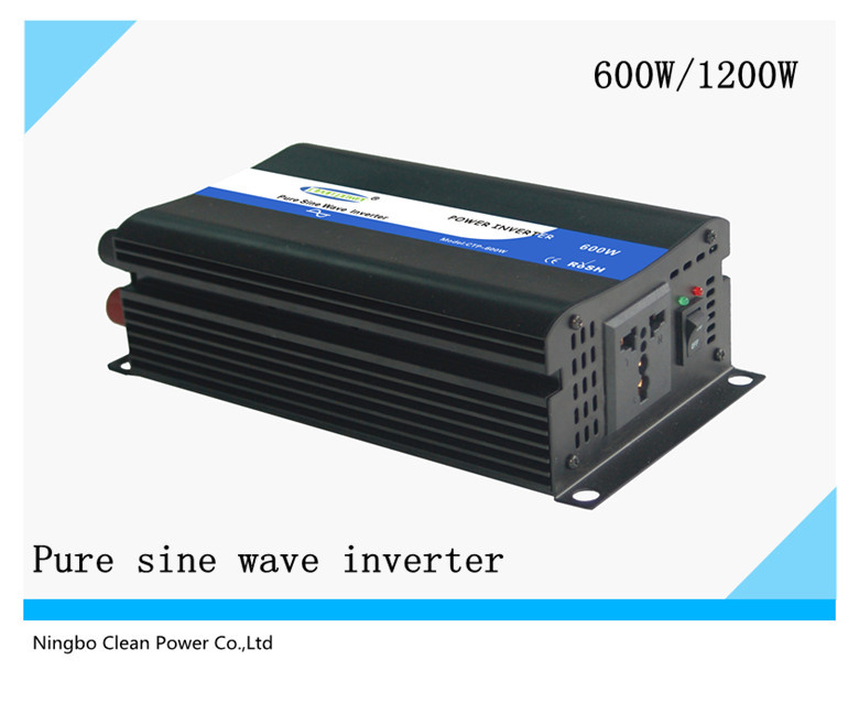 HOT SALE!!! PV Off-Grid Inverter 600w ,Pure sine wave inverter (CP-P-600W)(China (Mainland))