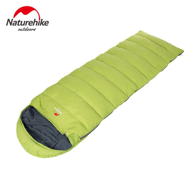 Hiking Outdoor Sleeping Bags Winter Sleeping Bag High Quality Cotton Camping Sleeping Bag 3 Colors -Naturehike