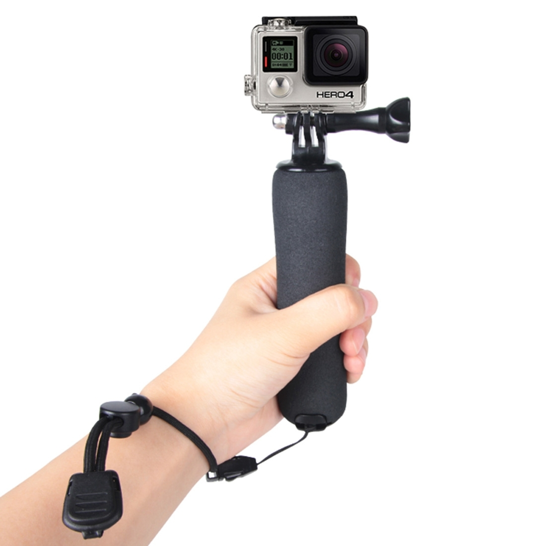 Go Pro Accessories Bobber Floating Handle Grip Mini Tripod monopod Mount for GoPro HERO4/3+/3/2/1& for Xiaomi Yi / SJCAM Camera