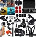 GoPro Accessories Set Head Chest strap harness monopod selfie stick for  Gopro Hero4 /3+/3/2 and SJ4000 SJ5000 Xiaomi yi Camera