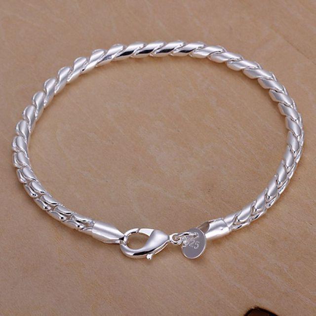 H210 925 ювелирных изделий посеребренные браслет, 925-sterling-silver мода ювелирных ...