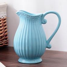 vente en gros blue ceramic vase galerie achetez des lots petits prix blue ceramic vase sur. Black Bedroom Furniture Sets. Home Design Ideas