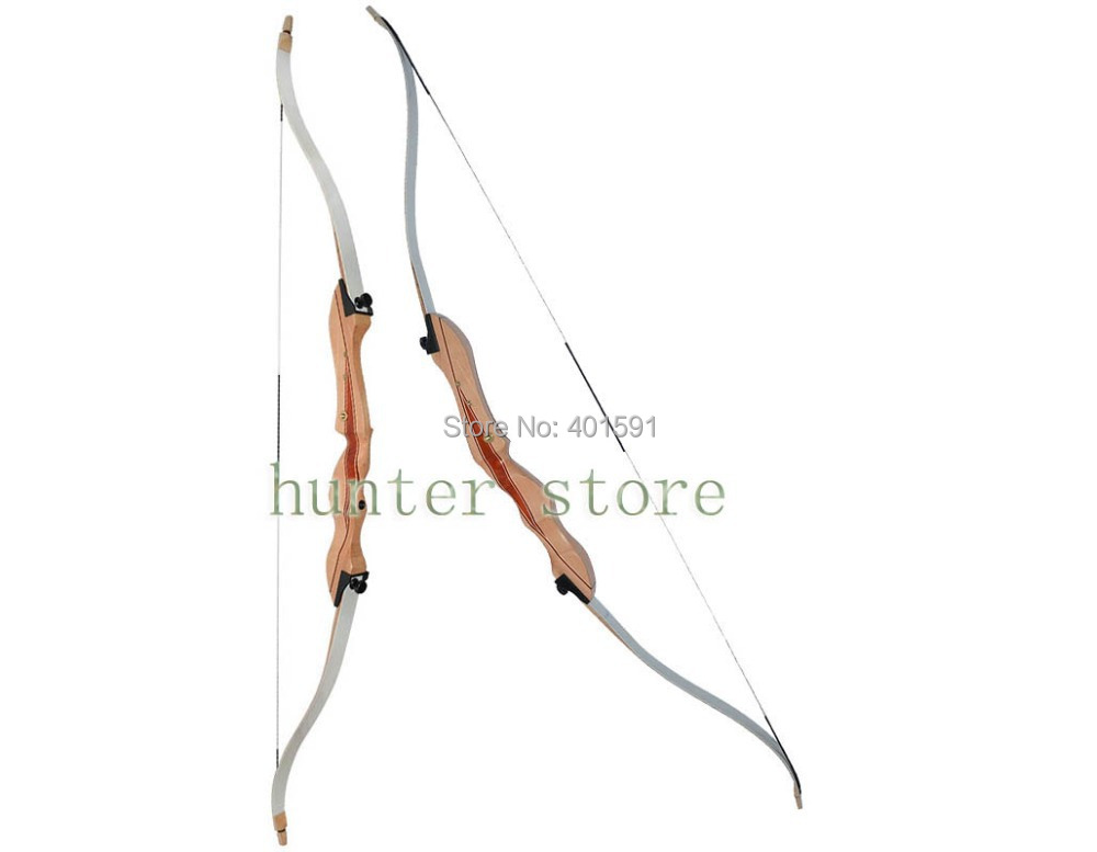 RH youth or lady target shooting take down hunting bow 22lbs 54 inch laminating wood longbow