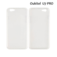 Oukitel U7 Pro Case Silicon TPU Cover New Original Protective Soft Back Case Cover For Oukitel U7 Pro Phone- In Stock(China (Mainland))