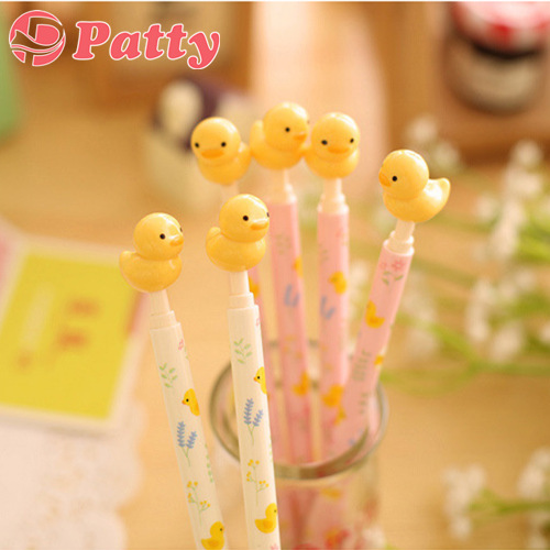 144 pc/Lot Cute yellow duck Ballpoint pen caneta ballpen Gift office material school supplies Patty stationery papelaria F240<br><br>Aliexpress