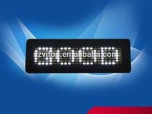LED Badge Display 5V LED Name Card No Need Driver LED Welcome Advertising Board Multi Languages 12 Modes High Brightness Newest(China (Mainland))