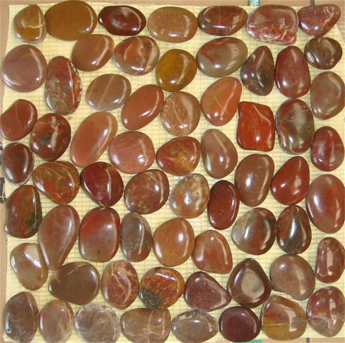 Badkamer Mozaiek Gamma ~ Wit Marmer Pebbles Promotie Winkel voor promoties Wit Marmer Pebbles