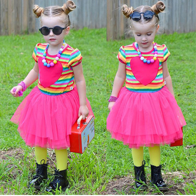 Платье для девочек Girls dress 2015 2/7 kids clothes T155 2016 summer teen girls boutique frock designs latest fashion dress for kids age 5 6 7 8 9 10 11 12 13 14t years old kids clothes