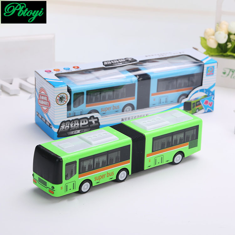 Electric bus universal flash music electric autocar children electric toy free shipping PI0752(China (Mainland))