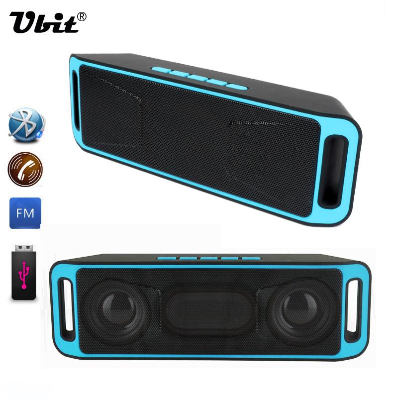 Portable Wireless Speaker Bluetooth 4.0 Stereo Subwoofer TF USB FM Radio Built-in Mic Dual Speaker Bass Sound Speakers<br><br>Aliexpress
