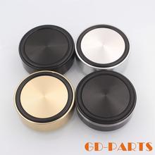 1PCS/Tube amplifiers aluminum mat Gold Round Isolation CD Player Audio Speaker Anti Vibration foot nail mat Feet Pad Stand(China (Mainland))