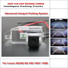 Buy Intelligent Parking Tracks Rear Camera Lexus GS300 GS 300 RX270 RX 270 Backup Reverse NTSC RCA AUX HD SONY CCD 580 TV Lines for $47.80 in AliExpress store