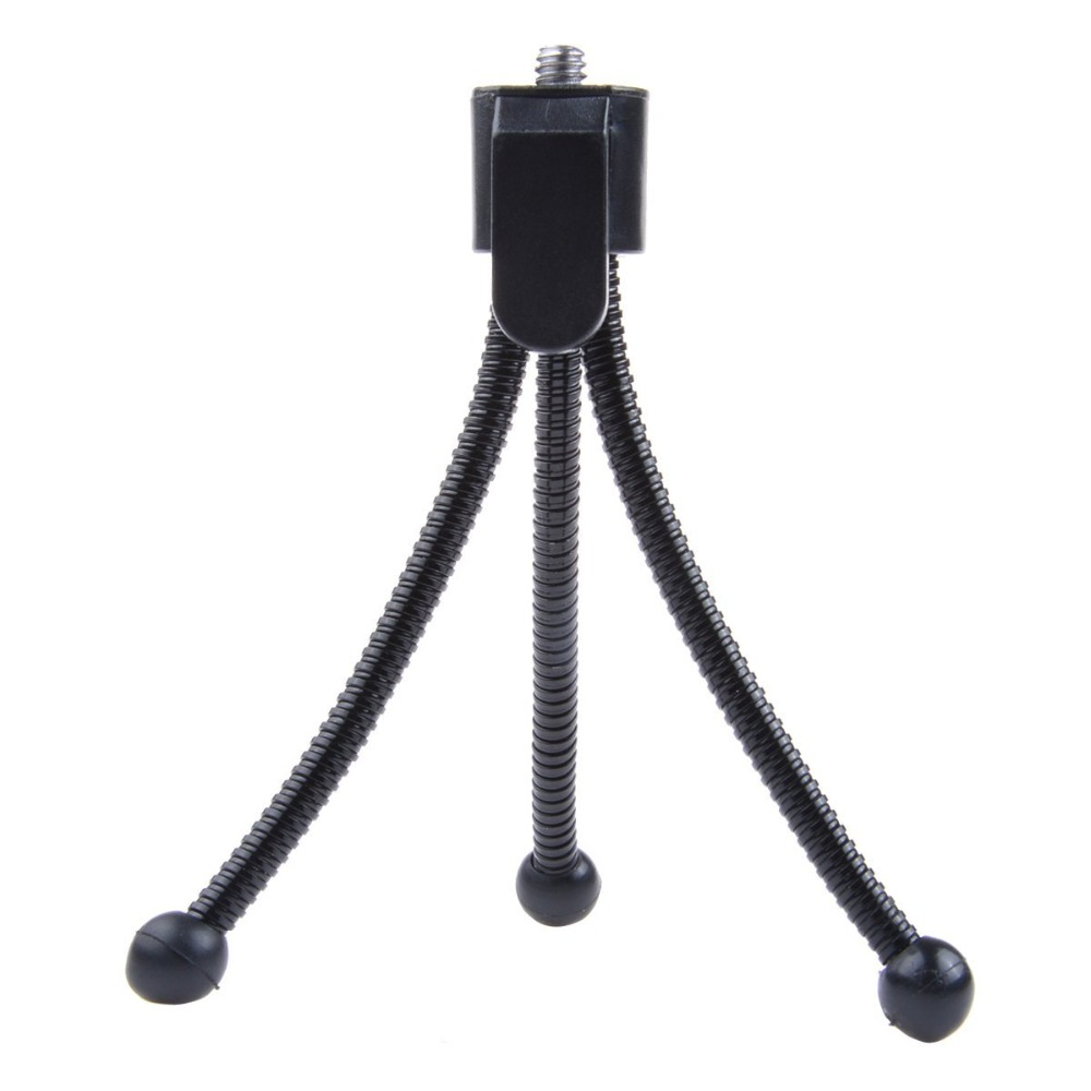 Mini Portable Car Flexible Tripod Lightweight Stand for Digital Camera Mini Projector Xiaomi Yi4k Sj4000(China (Mainland))