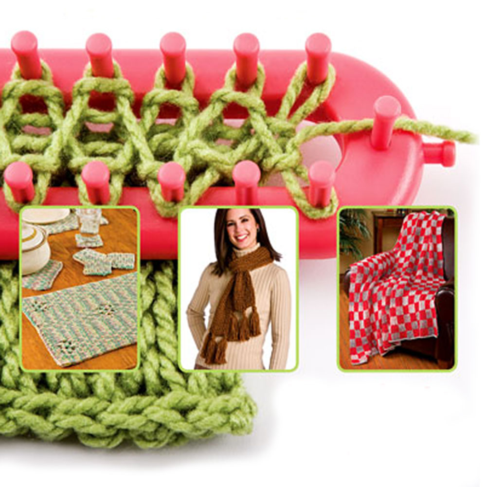 Knit Quick Long Loom Patterns : Loom Scarves Werbeaktion-Shop fur Werbeaktion Loom Scarves bei Aliexpress.com