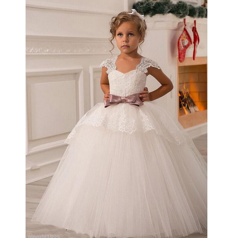 Vestidos da menina de flor picture more detailed picture for Lil girl wedding dresses