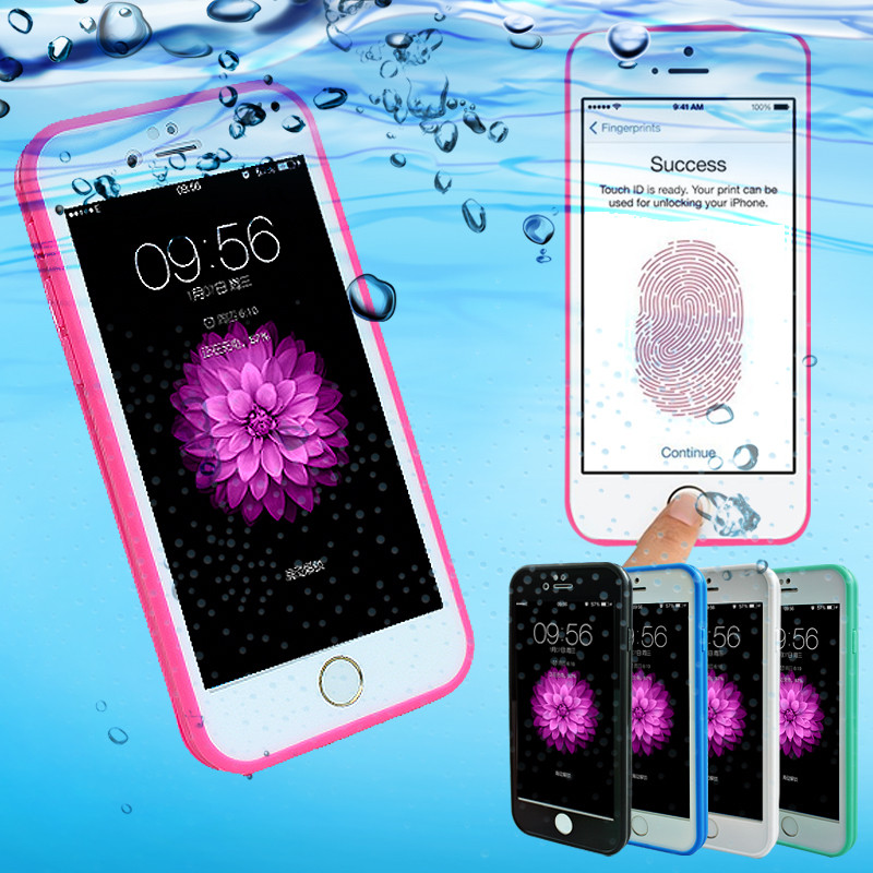 Waterproof Shockproof Dustproof Diving cases cover for iphone 5s 6 6s 6 Plus 6s Plus Phone Bag Shell freefall phone cover(China (Mainland))
