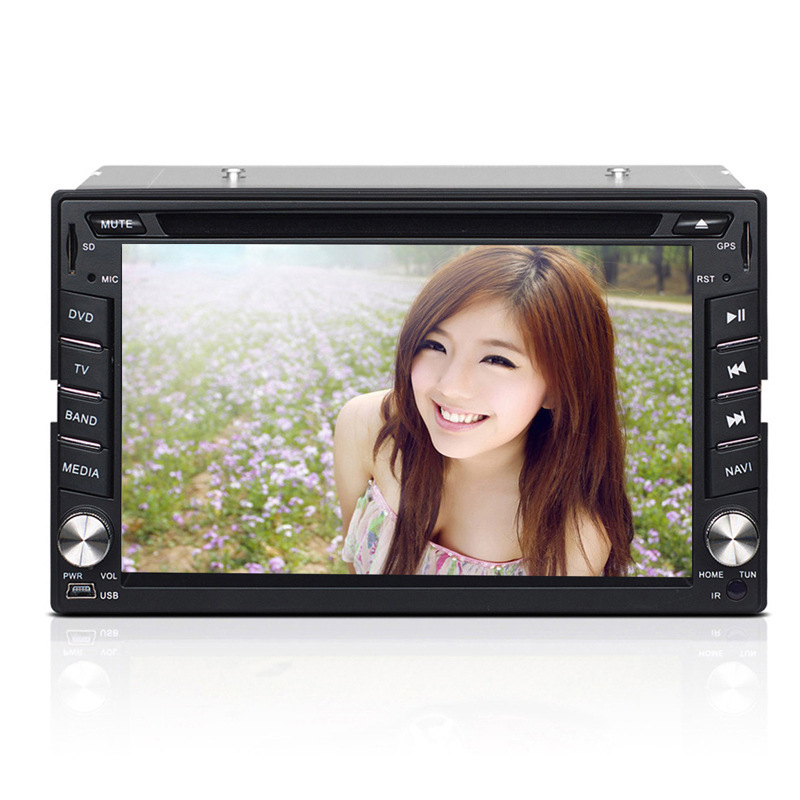 2015 NEW Arrive 6.2 inch touchscreen Universal car pc Window CE 6.0 GPS MAP DVD Radio BT USB 2.0 SD AV FM With Remote control(China (Mainland))