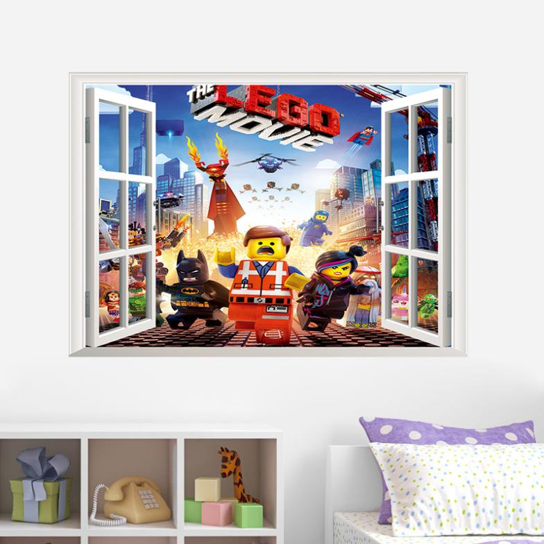Cute kids 3D cartoon wall stickers removable water proofing home wall decor ZY1422