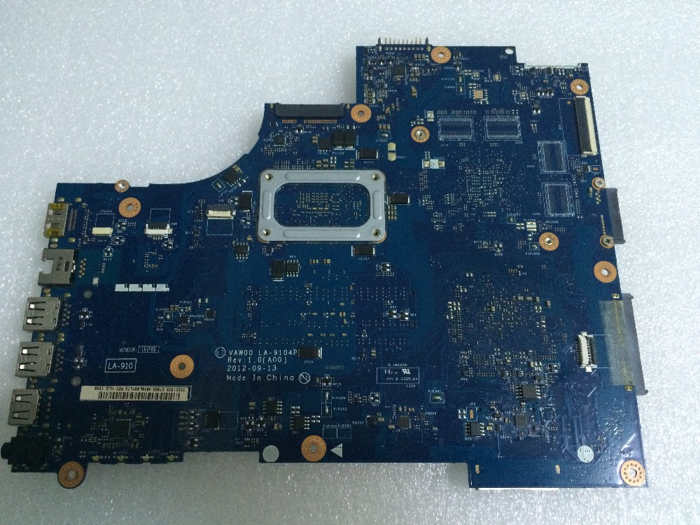 Free Shipping New 0HKJ53 For Dell Inspiron 15R 3521 5521 Motherboard VAW00 LA-9104P Rev 1.0 main card with i3-3217U cpu <br><br>Aliexpress